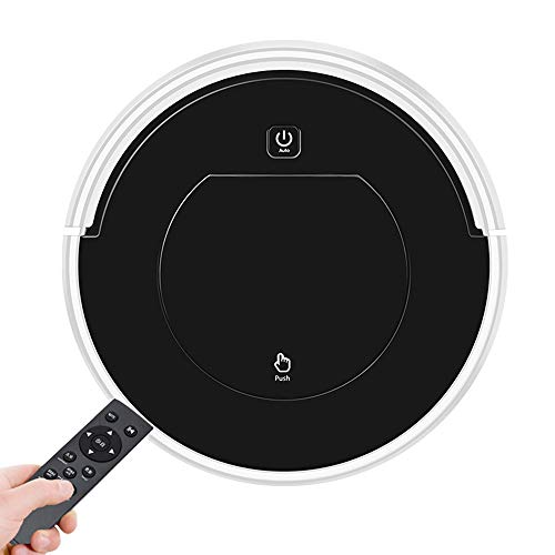 3 in 1 Robotic Vacuum Cleaner with Remote Control, 2000Pa Strong Suction 12″ Cleaning Robot, 2200mAH Rechargeable Battery 120 Min Run Time,Automatically Sweeping Scrubbing Mopping Floor