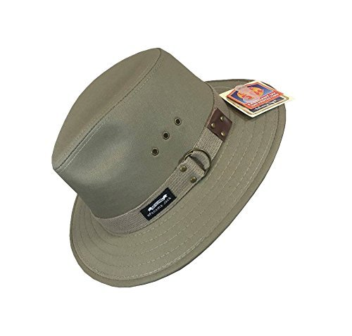 573376cc600 Bounty Hunter Water Resistant Cotton Hat Brown Medium.  43.00  43.74.  Details. Sale. Panama Jack Men s Original Canvas Safari Sun Hat