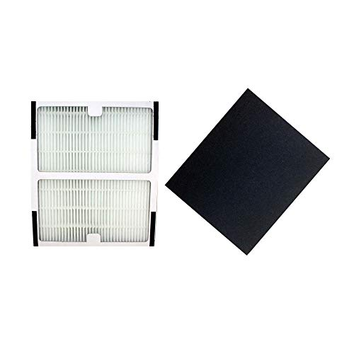 Think Crucial Replacements for Idylis HEPA Style B Air Purifier Filter & Carbon Filter, Model # IAF-H-100B by Crucial Air