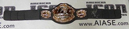 Kazushi Sakuraba Signed UFC Toy Championship Belt COA Pride FC Autograph - PSA/DNA Certified - Autographed UFC Miscellaneous Products