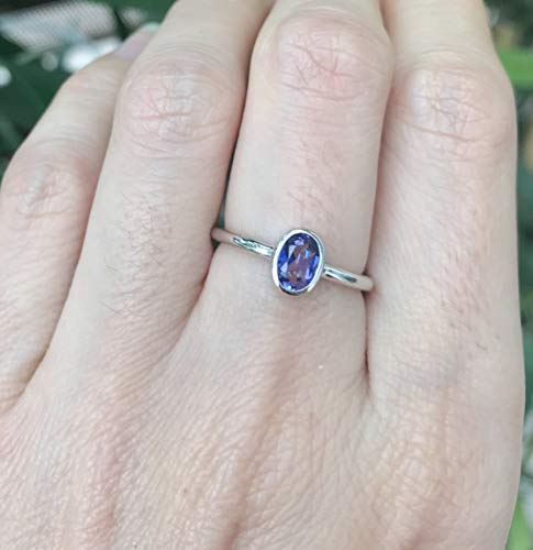Mystic Topaz Oval Small Ring Size 7