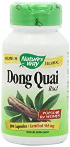 Nature's Way Dong Quai Root -- 100 Capsules / 565 mg