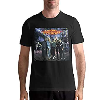night ranger greatest hits men customization sports round neck short sleeve t shirt. Black Bedroom Furniture Sets. Home Design Ideas