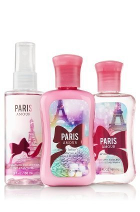 Bath & Body Works Paris Amour Travel Size Gift Set - All New Daily Trio