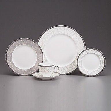 Wedgwood Celestial Platinum Pasta Plate