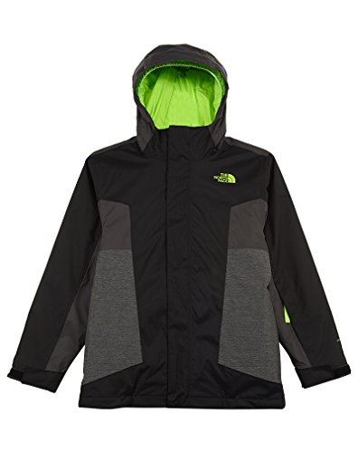 The North Face Boys' Youth Axel Triclimate Jacket (Sizes S - XL) - black, m by The North Face