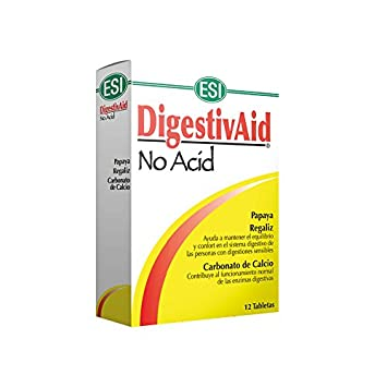 Amazon.com: Esi DigestivAid No Acid 12 Tablets: Health & Personal Care