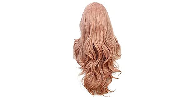 Mypace Blond - Extenso pelo liso para hombre y mujer, color rosa ...