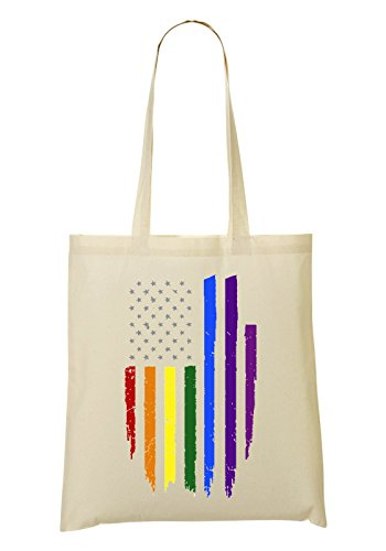 Colors Fourre American tout Sac Flag Rainbow provisions à Sac 4vqxqHFZw