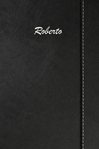 (Roberto: Blank Cookbook Recipes & Notes featuring 120 pages 6
