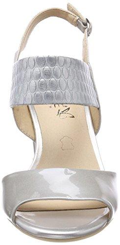 207 lt Multi Caprice Gris Taln Grey Sandalias 28304 Mujer Abierto De Para rvx8PSwqvn