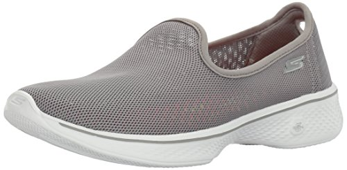 4 Performance Gray Airy Walking Skechers Women's Go q6WRAw7tw