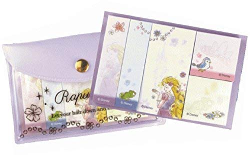 Delfino Disney Rapunzel Tangled Princess Sticky Note with Pouch DZ-79698