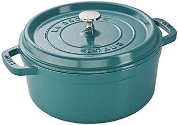 Staub 11024105 Cast Iron Round Cocotte 4 Qt