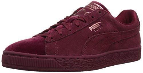 PUMA Women's Suede Classic Velvet Wn Sneaker, Cordovan, 7.5 M US