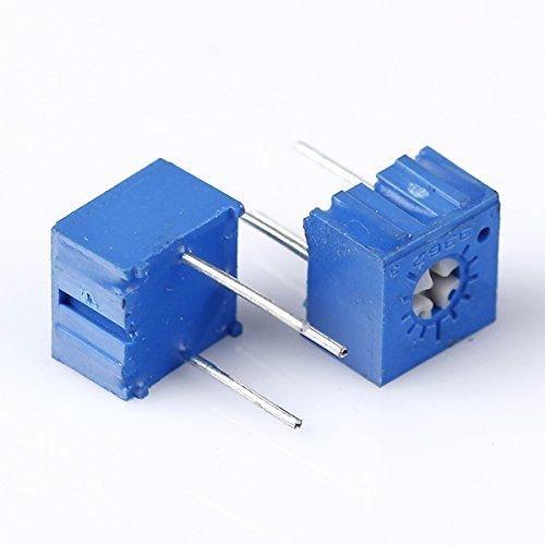 Price comparison product image Quickbuying 10pcs 500 ohm 3362P-501 3362 P Trim Pot Trimmer Potentiometer