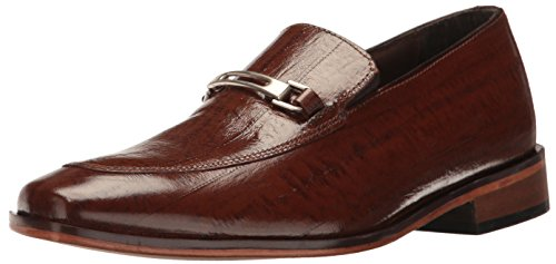 Stacy Adams Heren Santiago-moc Teen Bit Slip-on Loafer Mosterd