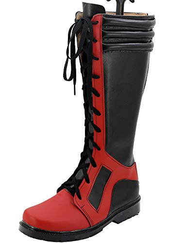 GOTEDDY Wade Pool Cosplay Boots Halloween Costume Shoes Women (6.5 M US Female)