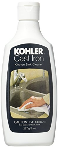 Kohler K1012525 Kitchen Sink Cleaner, 8 (Kohler Cast Iron Sink Cleaner)