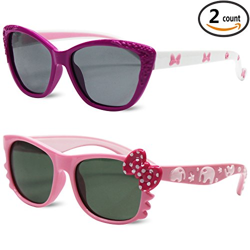Sunggles Kids Polarized Sunglasses for Girls Age 3 to 10,Pack of - ??????? Sunglasses Kid