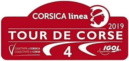 Aufkleber Fia WRC Rallye DE Frankreich 2019 Mod.02 Vinyl-Aufkleber PR338