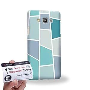 Case88 [Samsung Galaxy A7] 3D impresa Carcasa/Funda dura para & Tarjeta de garantía - Art Design Drawing Puzzle Box
