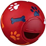 WHEEKY Treat Ball for Medium Dogs 20-50 lbs. Adjustable-Opening Snack IQ Toy