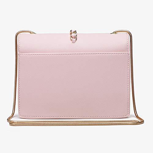 Balza Borse 14 5 Pink Piccola 20 Con Pelle Nappa In 5cm A Nappe Donna pink Sera Mini Tracolla Borsa Da qTP4Ona