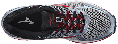 Mizuno Hombres Wave Paradox 3 Running Quarry Shoe / High Risk Red