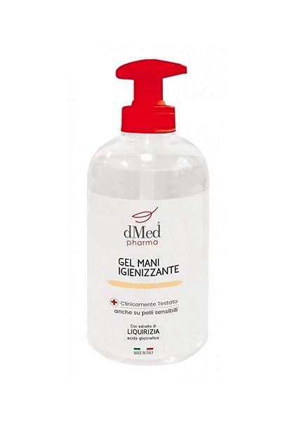 Sanitec - Gel de manos desinfectante - Envase de 500 ml - Con dosificador