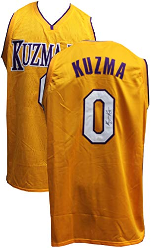 2cad01f0ae2 Kyle Kuzma Autographed Signed Lakers