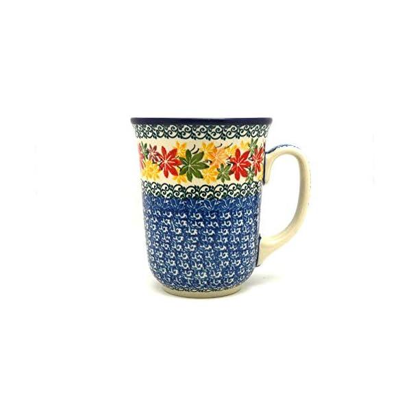 Polish Pottery Mug – 16 oz. Bistro – Maple Harvest