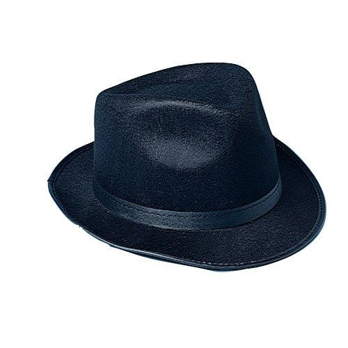 [Gangster Hat Costume Accessory] (Fedora Gangster Hat)