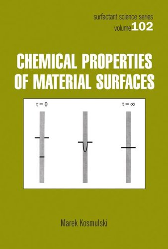 Chemical Properties of Material Surfaces (Surfactant Science)