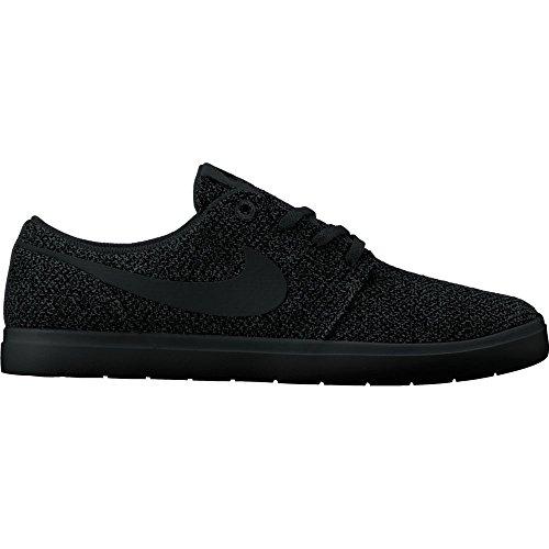 Nike Mens Sb Portmore Ii Scarpa Da Skate Ultralight Nero / Nero-antracite