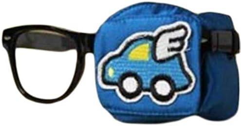[해외]어린이 실크 안경 아이 마스크 약시 사시 지연 아이 패치-딥 블루  02 / Children`s Silk Glasses Eye Mask AmblyOpie Perspective Lazy Eye Patch - Deep Blue 02