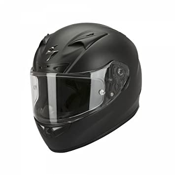 Scorpion Casco Integral, Negro Mate, M (57/58)