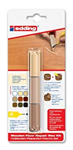 Edding 4-8902-1-4611 8902 DIY - Marcador (Multi) Reparación Suelo de madera Set Haya / arce