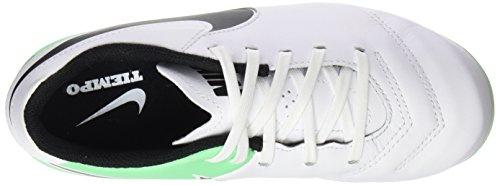 Nike Tiempo Legend Vi Ag-Pro, Botas de Fútbol Unisex Niños Varios colores (White / Black / Electro Green)