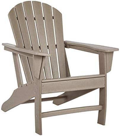 Signature Design by Ashley P014-898 Sundown Treasure Adirondack Chair, Grayish Brown