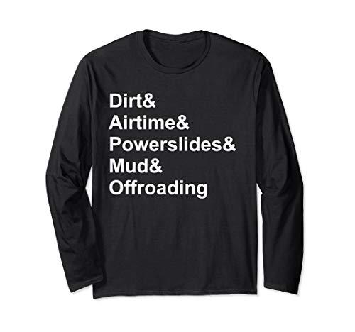Dirt Airtime Powerslides Mud & Offroading ATV T-shirt