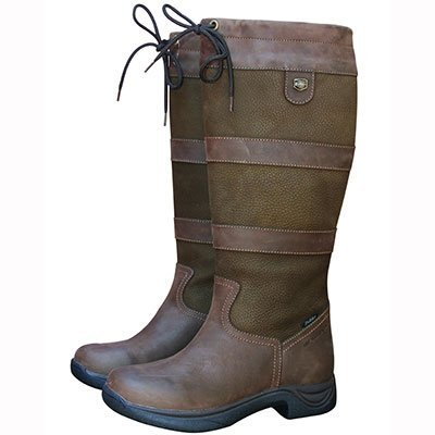 Dublin Women's Wide River Equestrian Boot – Brown – 9.5