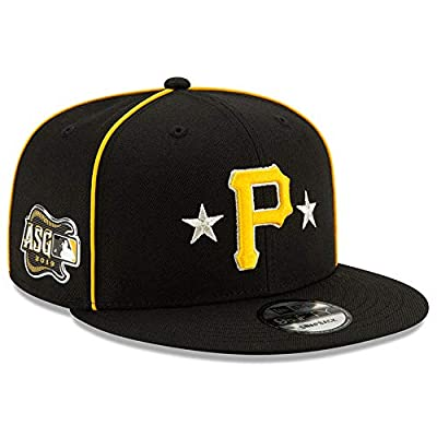 New Era Pittsburgh Pirates 2019 MLB All-Star Game 9Fifty Snapback Adjustable Hat - Black