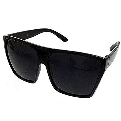 Amazon.com: Negro Oversized grande XL Big anteojos de sol ...
