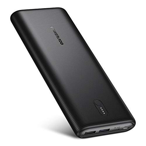 Poweradd Energycell II Powerbank, 30 W, 26800 mAh, externe accu, USB C, draagbare oplader voor iPhone, iPad, Samsung…
