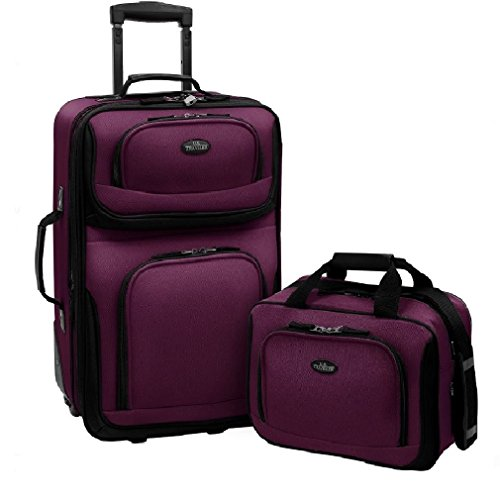 us-traveler-rio-two-piece-expandable-carry-on-luggage-set-purple