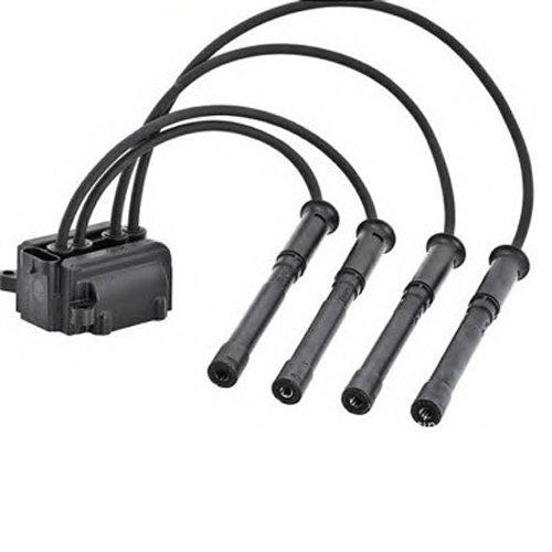 DEDC Pack de cables de bujía para bobina de encendido: Amazon.es: Coche y moto