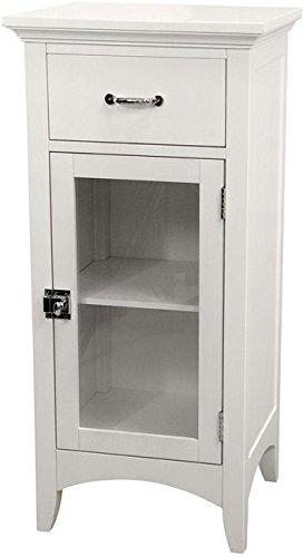Elegant Home Fashions, Classique ( White Single Drawer ) Floor Cabinet.