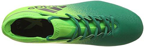 Hombre grün 16 para Fútbol FG neongrün X Adidas Botas 3 de OFxBcq8w