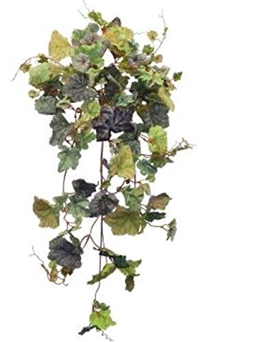 32-Frosted-Summer-Multi-hued-Grape-Ivy-Hanging-Bush-Green-Greenery-Filler-Silk-Wedding-Flowers-Plant-Decor